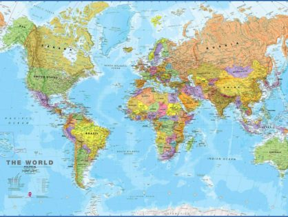 Мапа світу: збираємо досвід подорожей