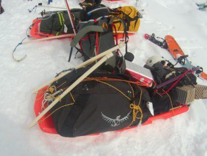 Пригоди сумки Osprey Transporter 130 у снігах Аляски