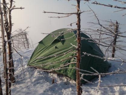 Зимовий тест намету Turbat Runa 2