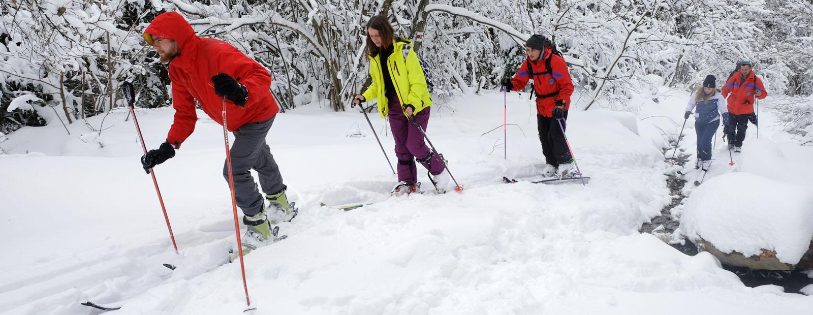 У мандрівку на лижах: перший скітур-маршрут на Львівщині