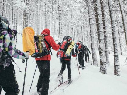 Зимові гори: йти не варто лишитися