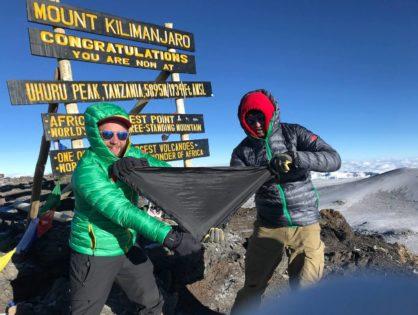 «Це так, ніби побувати на Марсі», - Ромко Колобок про похід на Кіліманджаро