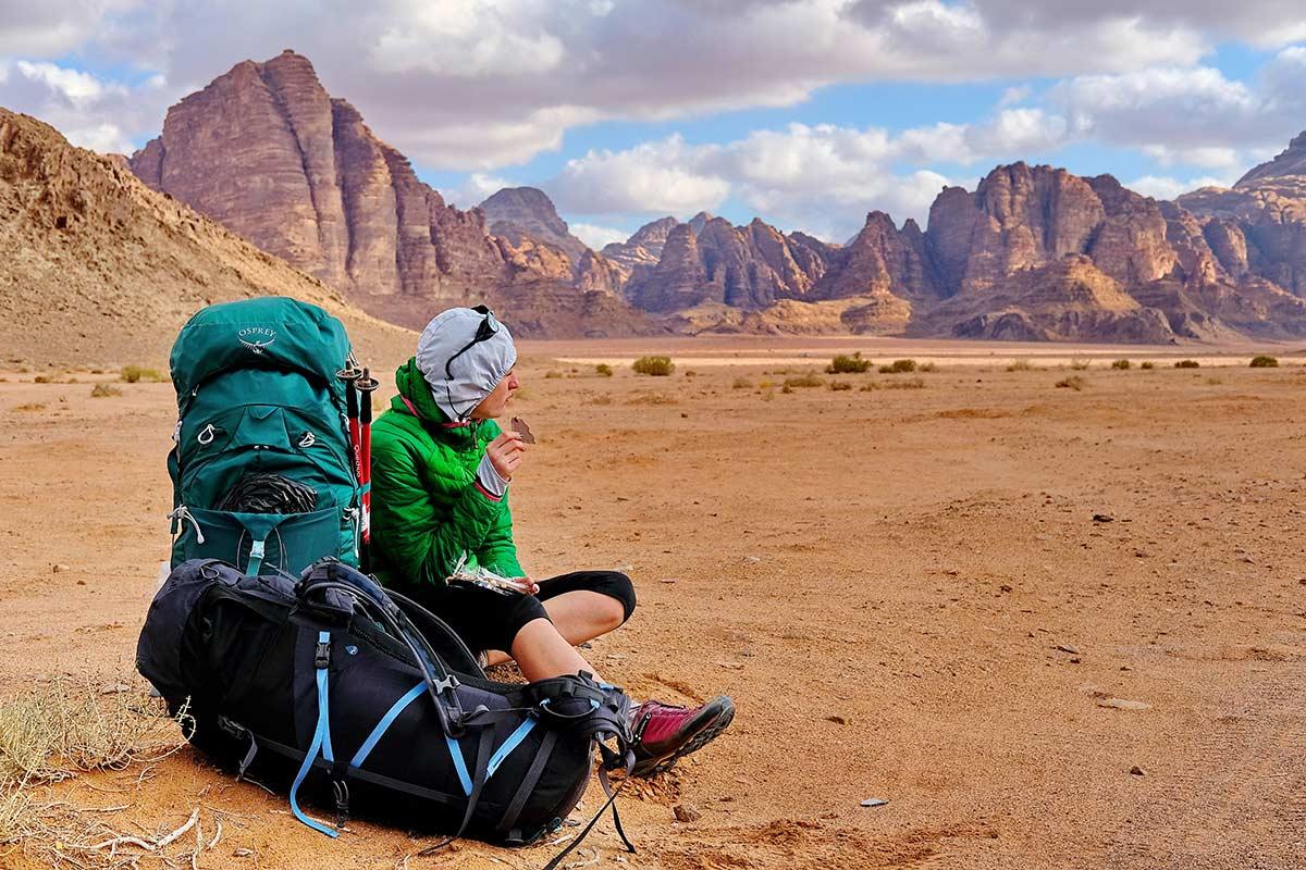 Йорданія: автостоп та пустелі