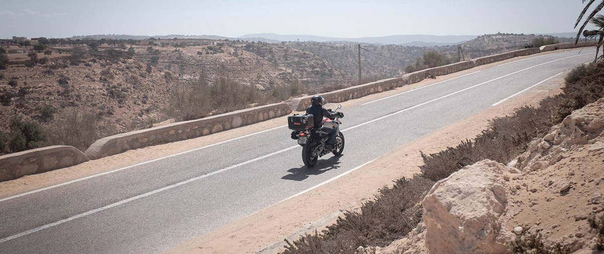 Мотоциклом до Сахари