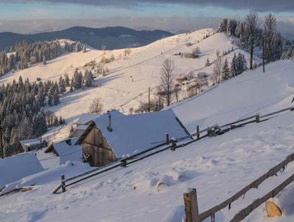 Зимовий трекінг: Писаний Камінь