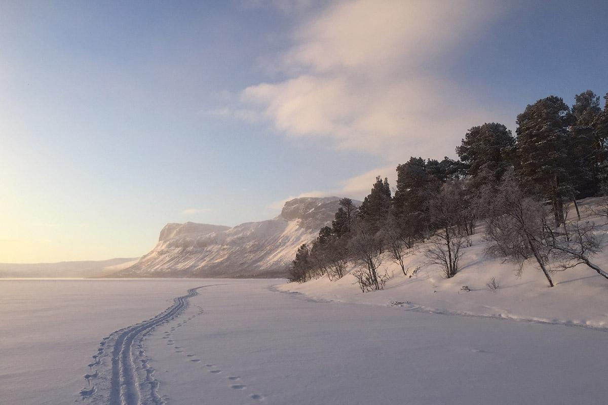 Швеція: засніжена королівська стежка