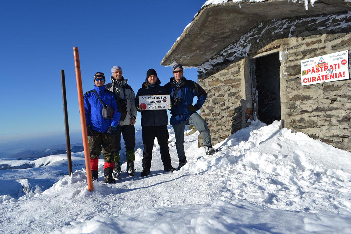 Снігове сходження на Петросул