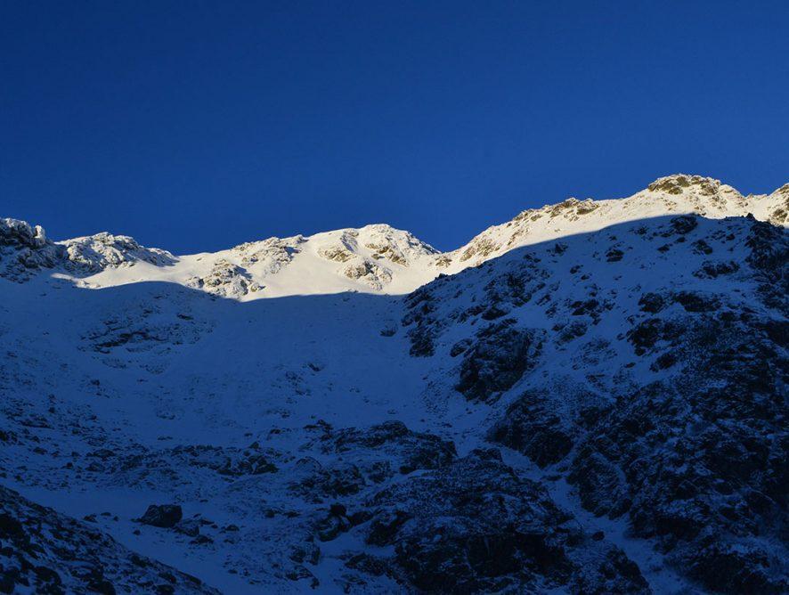 Роднянські альпи взимку Петросул