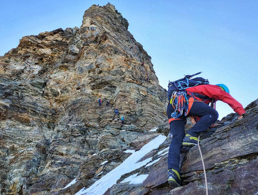 Сходження на Матергорн (Матерхорн) з Італії гребнем Ліон