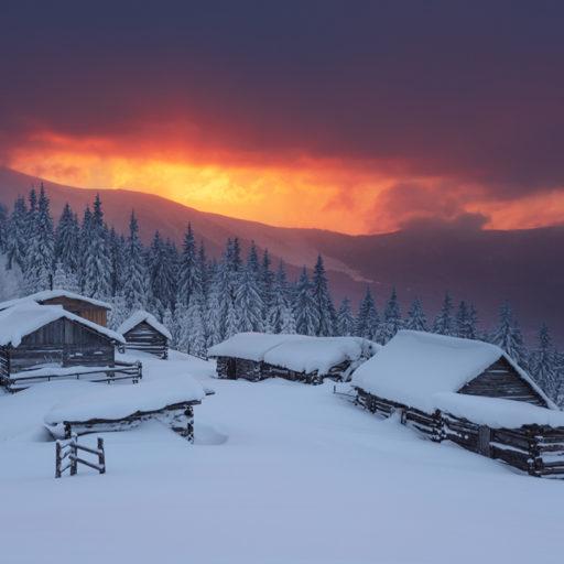 Ідеї для нового року в горах