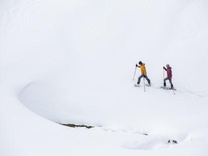 Лавини в зимових горах