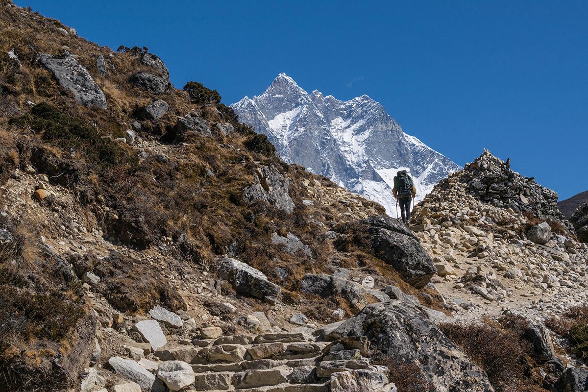 Трек до до базового табору Евересту