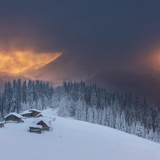 Зимові Карпати, фантастичні фото М.Ременюка