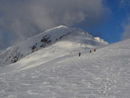Зимове сходження на Фаркеу