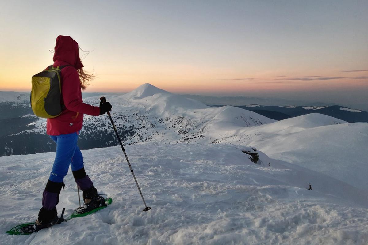 Зимові гори, Оксана Максимова