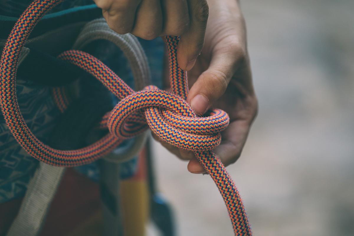 Мотузки для скелелазіння та альпінізму