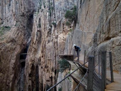 Іспанія: Королівська стежка (Caminito del Rey)