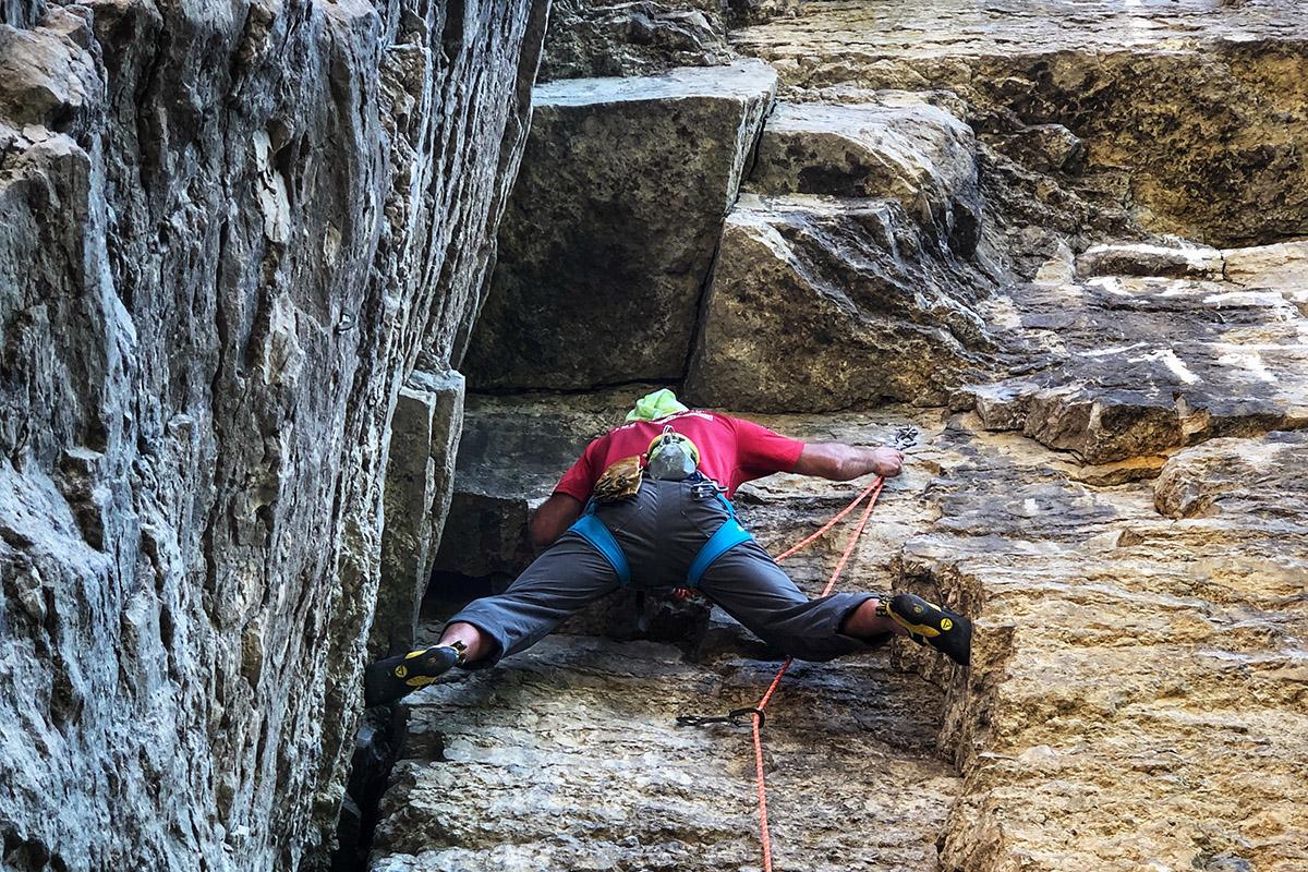 Камянець скелелазіння