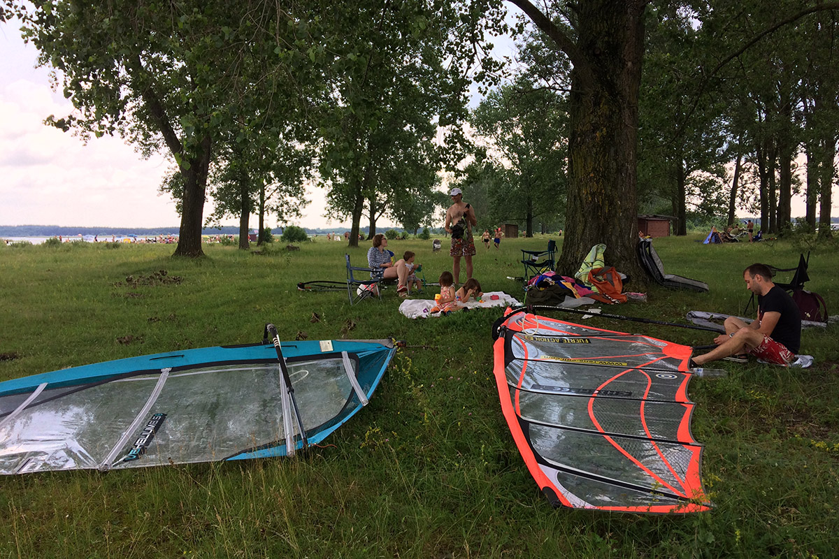Шацькі озера: віндсерфінг, велосипеди та кемпінг