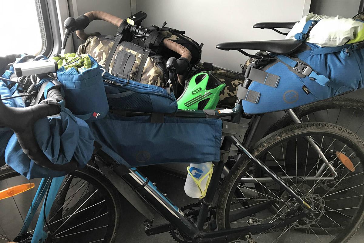 Байпекінг, велосипедом через Карпати