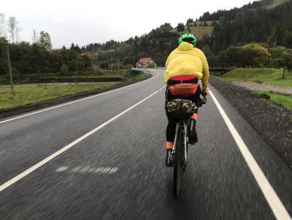 Байкпекінг: велосипедом через Карпати