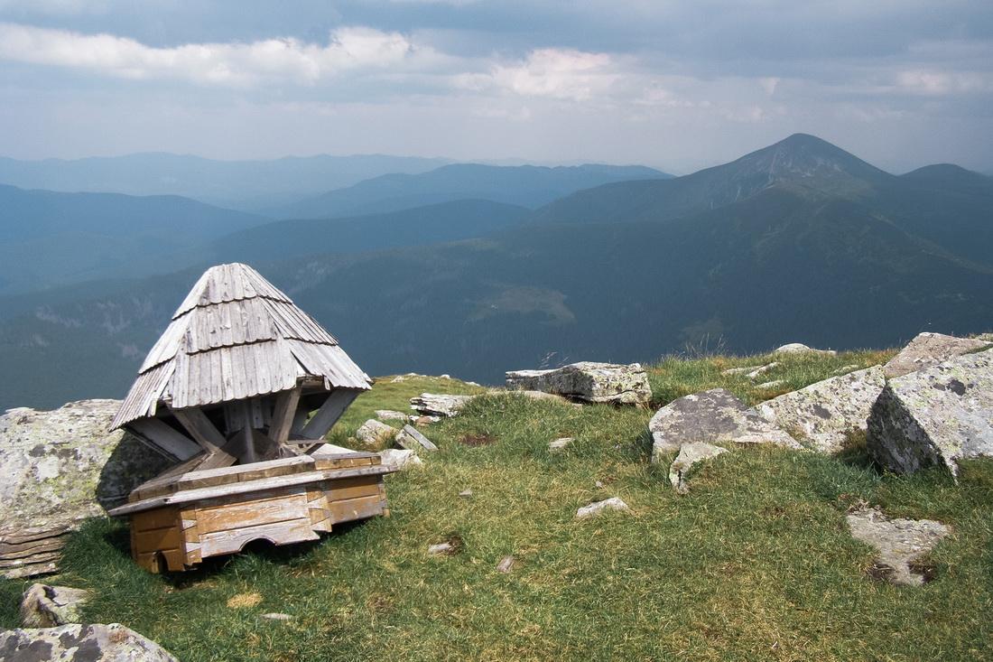 Карпатські локації: Петрос - Gorgany PRO