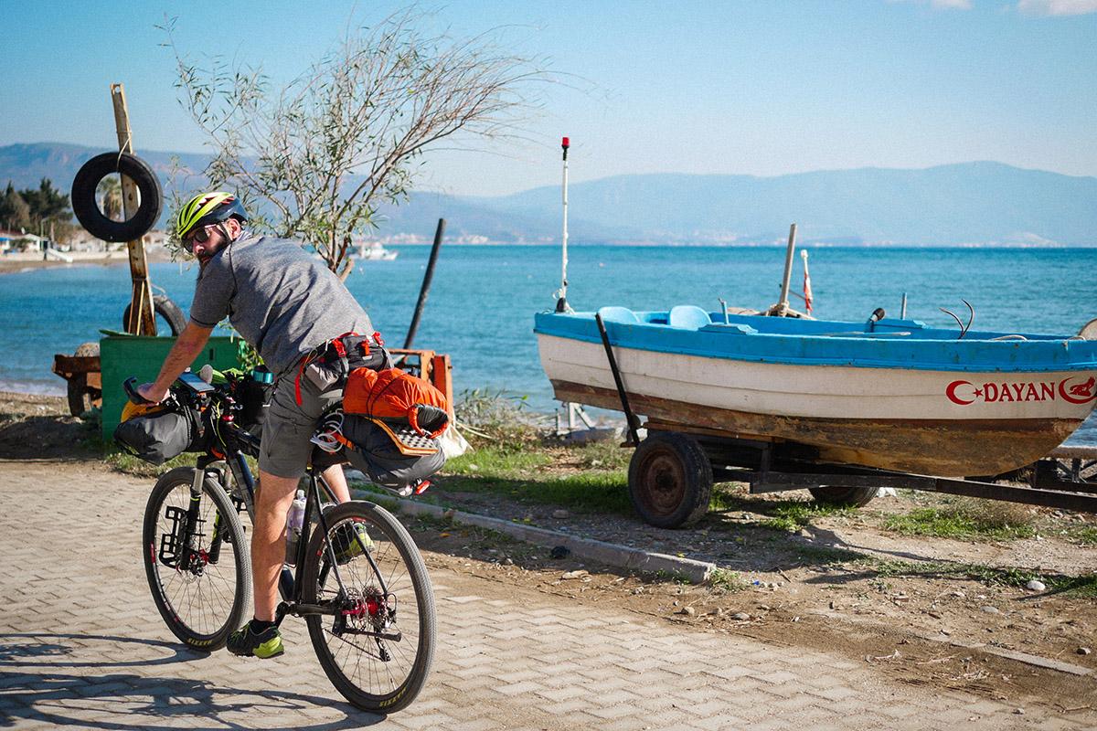 байкпекінг, велосипед, Туреччина, подорож