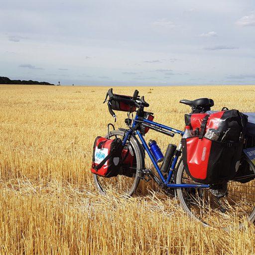Велосипедом через Україну, Андрій Жеромський
