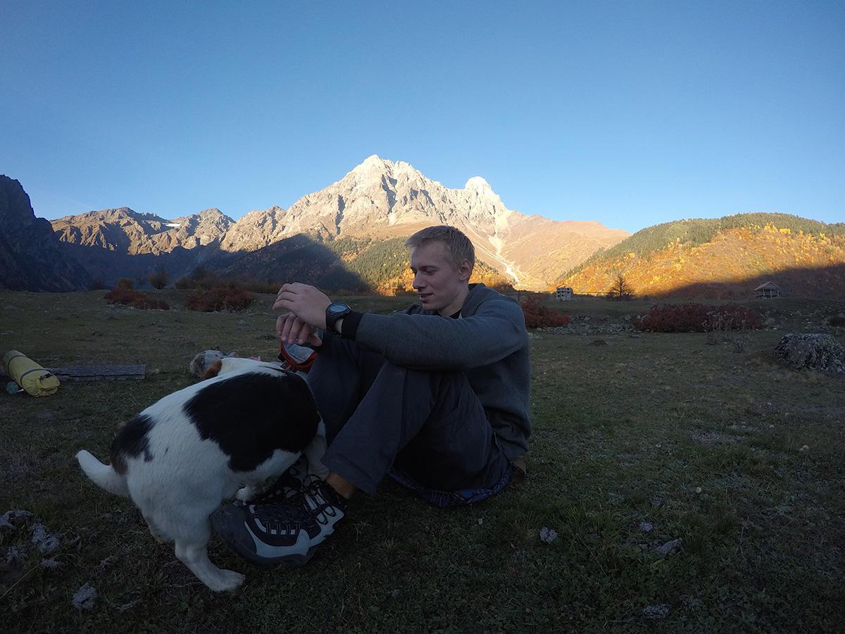 Гірська спільнота, екомандрівка, Андрій Дуда