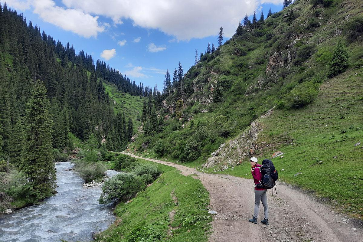 Тянь-Шань, Киргизстан, GRA